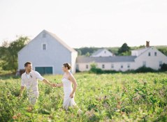 Laudholm Farm Wedding Flowers by Michelle Peele