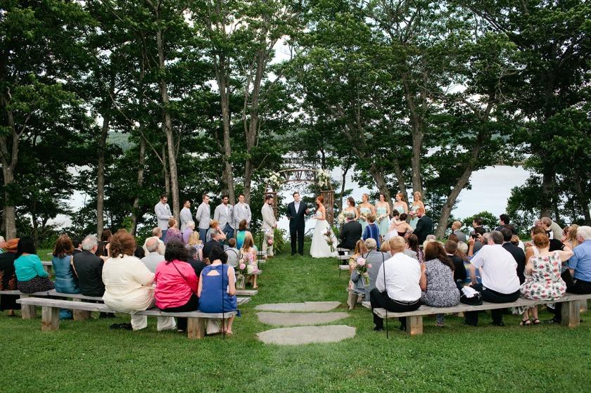 Marianmade Farm Wedding Ceremony