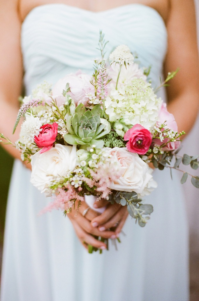 Michelle Peele Floral Bridesmaid Bouquets