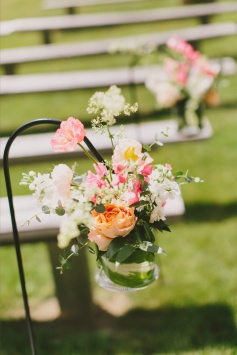 Michelle Peele Floral at Marianmade Farm Wedding by Henry and Mac