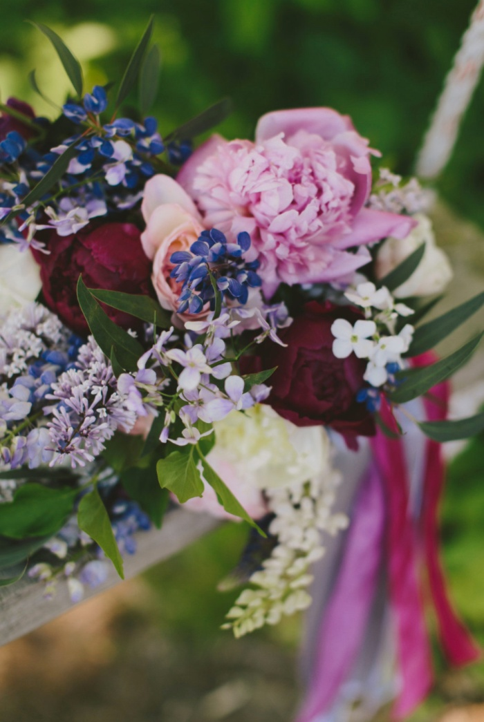 Michelle Peele Floral at Marianmade Farm Wedding