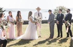 New Harbor Maine Wedding with Michelle Peele Floral