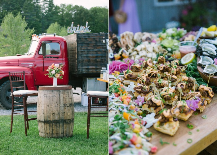 Marianmade Farm Wedding with Michelle Peele Floral by Maine Tinker Photography