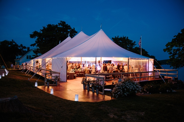 Castine Maine Wedding Reception