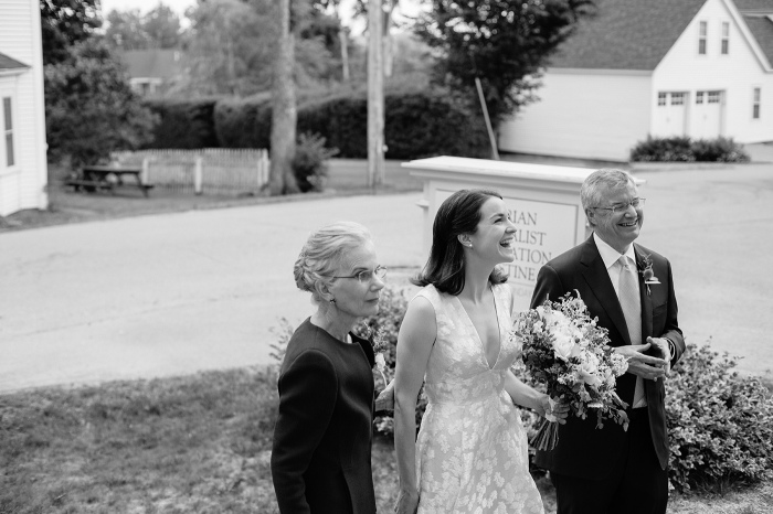 Castine ME Wedding Ceremony
