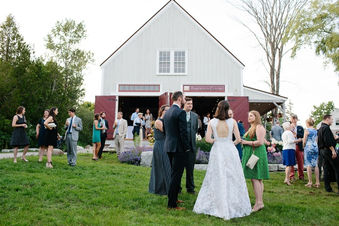 Wilson Museum Wedding Castine