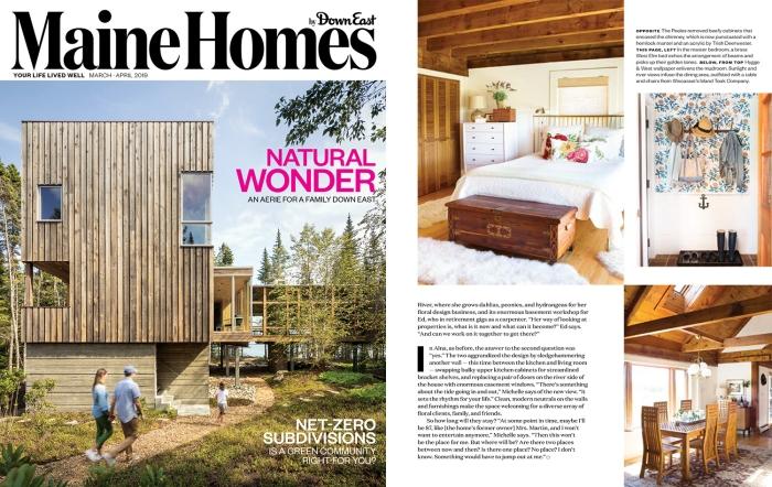 Maine Homes Magazine Michelle Peele Floral