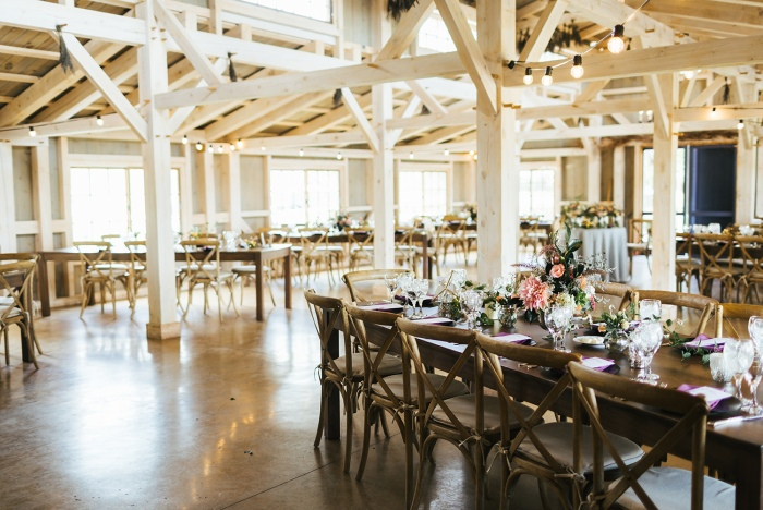 Marianmade Farm Wedding Reception