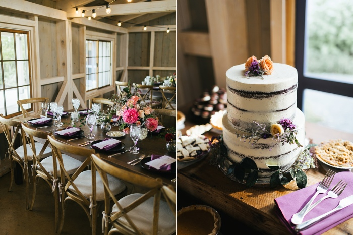 Marianmade Farm Wiscasset Maine Wedding Reception
